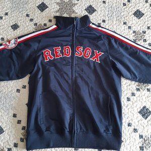 Stitches Boston Red Sox Logo Jacket